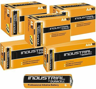 New Duracell Battery Professional Industrial Aa Aaa Alkaline Batteries Exp: 2022