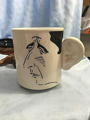PRINCE CHARLES Mug ENGAGEMENT PRINCESS DIANA Ear Handle British Carlton Ware 81