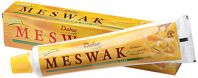 Dabur Meswak Herbal Toothpaste - Healthy Gums & Awesome Mouth Feel - 200gm