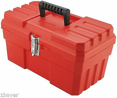 """Akro-Mils 14"""" Plastic Hand Power Tool Container Organizer Carry Storage Case Box"""