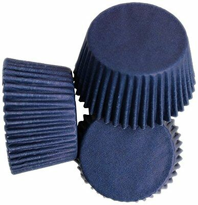 Scrumptious Greaseproof 65 GSM Navy Blue Cupcake Cases, Set of 36