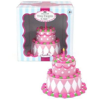 """Doll Clothes 18"""" Sophia's Two Tiered Doll Cake Fits American Girl Doll"""
