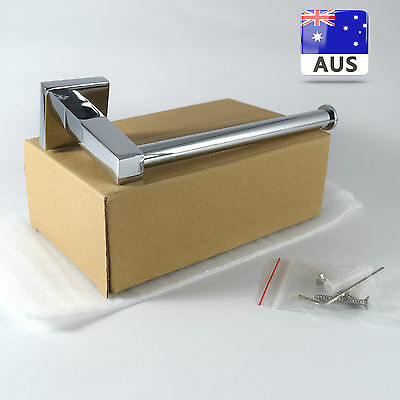 Square Toilet Paper Holder Tissue Roll Mount Bathroom Accessories ** New ** AUS