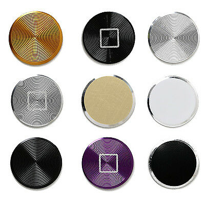 Luxury Metal Home Button Key Sticker DIY Decoration for iPhone 5 5S 5C SI