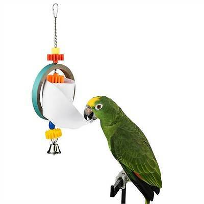 Paper Toy Dispenser shredding large bird and parrot toy