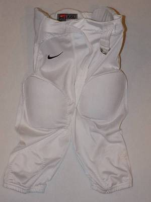 nike football pants with pads youth xxl boys white padded pants NWT