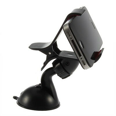 New Car Windshield Mount Holder Bracket for iPhone 4 4S Smartphone YS