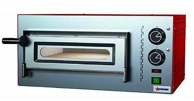 OMCAN Commercial  Electric Deck Countertop Pizza Stone Baking Oven Made in Italy