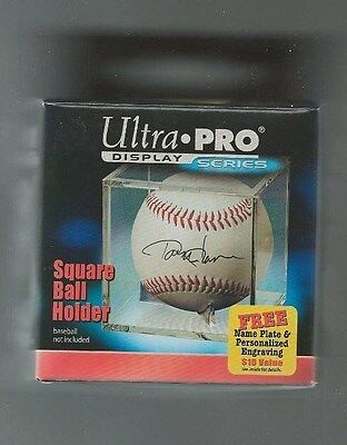 Ultra Pro Square Baseball Holder Cube Display Case with Cradle ( qty 12 )