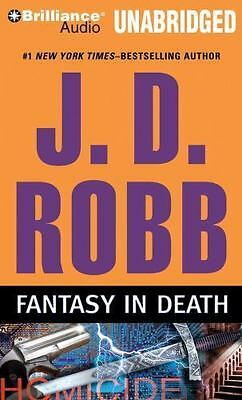 FANTASY IN DEATH unabridged audio book on CD by J.D. ROBB (Nora Roberts)