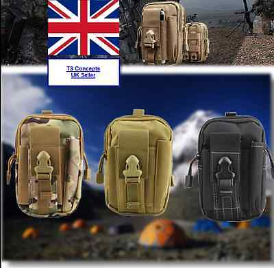 Outdoor Sports Waist Bag Pack Tactical Hiking Fishing Pouch Multi Mobile Day