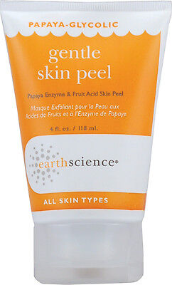 Papaya-Glycolic Gentle Skin Peel, Earth Science, 4 oz