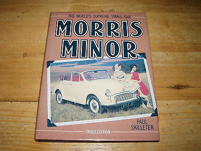 Book - Morris Minor-The World's Supreme Small Car by Paul Skilleter.