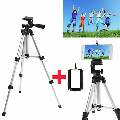 EEEKit Professional Camera Tripod Stand Mount Phone Holder for iPhone Samsung