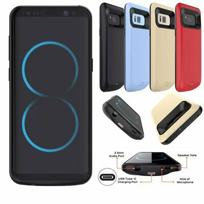 8000mAh External Battery Case Power Bank Charger For Samsung Galaxy S7 Edge S8+