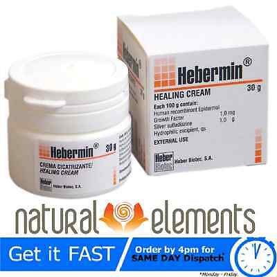 Hebermin (Facdermin) Healing Cream for Burn and Scar Treatment - Fast Delivery