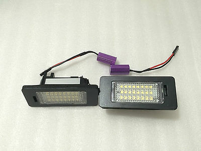 Plafones Led De Matricula Luces Led Vw Golf 6 Golf Vi 09-13 Homologado E11 Ce