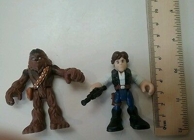 Imaginext Star Wars Chewbacca Han Solo Wookie toy doll figure Cake Topper