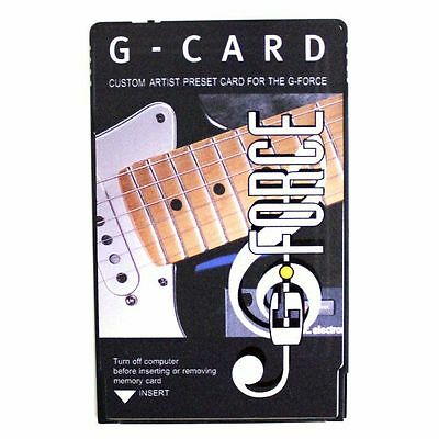 TC Electronic G Card Artist Preset Card for G-Force