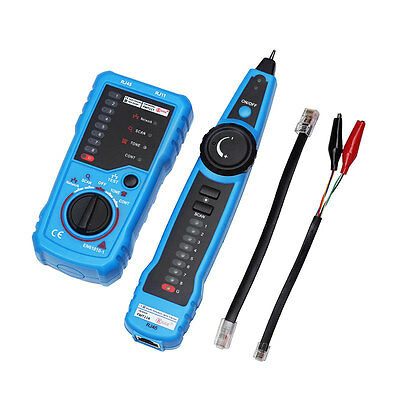 RJ11 RJ45 Cat5 Cat6 Telephone Wire Tracker Toner Network Cable Tester Detector