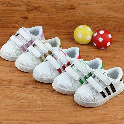 2016 New Kids Boys Girls Child Sports Running Shoe Baby Infant Casual Shoes