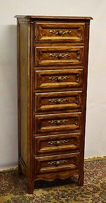 Drexel French Provincial Tall Lingerie Chest