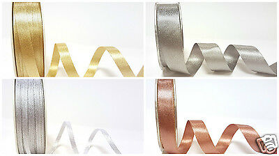 Sparkle Satin Ribbon ~ 3mm 10mm 15mm or 25mm  ~ Ideal for Christmas
