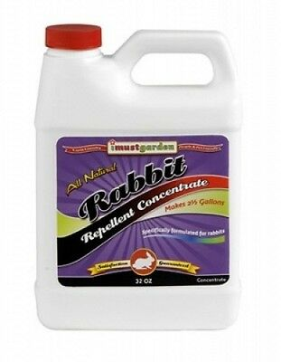 I Must Garden RAC32 Rabbit Repellent - 32oz Ready to Use. Free Shipping