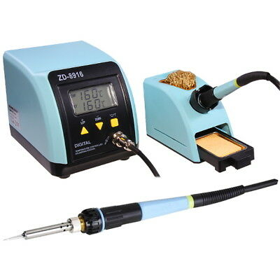 Soldering Rework Station 160°C to 480°C LCD Display Temperature Control ZD8916
