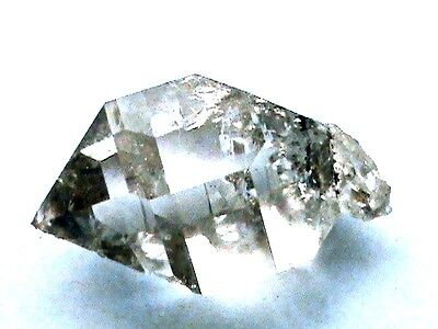 NY WATER-CLEAR 23.5 Carat 16x23 mm REAL  Herkimer Diamond Crystal Gemstone F377