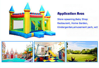 Commercial Grade Bounce New Kid's Large Inflatable Crayon Bounce Jumping House
