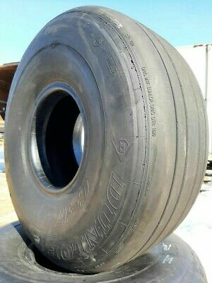 Set of two Aircraft Used tires 20.00-20 Goodyear's