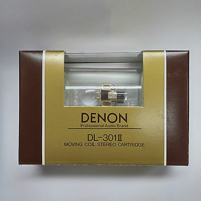 Denon DL-301 MKII Low Output MC Phono cartridge, 100% Made in Japan by Denon