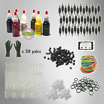 Tattoo Kit REFILL pack tattoo needles INK PK2