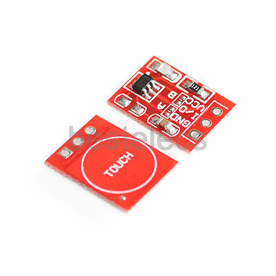10pcs TTP223 Switch Button Self-Lock Capacitive Touch Sensor Module for Arduino