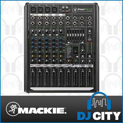 PROFX8V2 Mackie 4 Channel PA Mixer 4 Mic Inputs with FX and USB DJ City Austr...