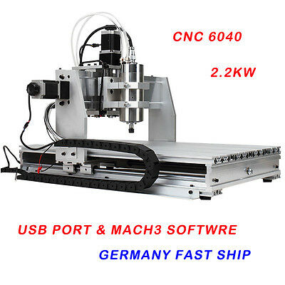 USB Mach3 3axis CNC router 6040 2.2KW Spindle Engraving Milling Carving Machine