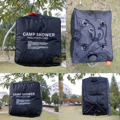 40L Liter Portable SOLAR Camp Camping Shower Bag Outdoor Hiking Water Sun Heated