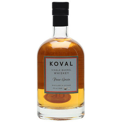 Koval Single Barrel Four Grain Whiskey 500ml
