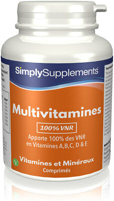 Multivitamines - 120 Comprimés - Simply Supplements