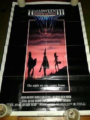 Halloween 3:Season Of The Witch Vintage Horror Movie Poster 41 x 27