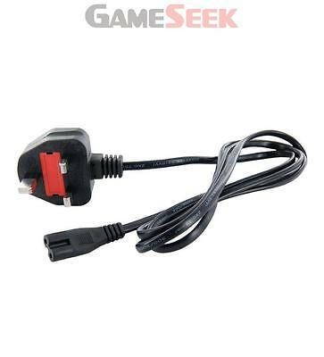 4World 2-Pin Figure 8 Power Supply Cable, 1.5M, Black (08218-Uk) | Free Delivery