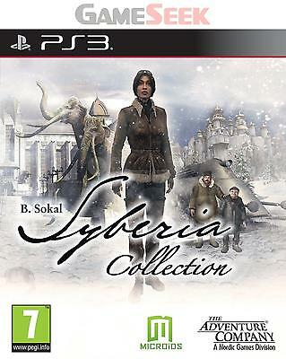 Syberia Complete Collection - Playstation Ps3 Brand New Free Delivery