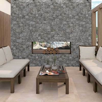 Cusco Stacked Dry Stone Slate Effect Porcelain Wall Tiles 640x320x10mm