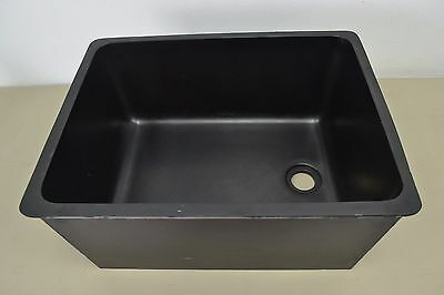 "Epoxy Resin Laboratory Sink 24"" x 10.5"" x 18"" New Condition"