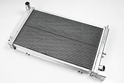 High Flow Alloy Aluminium Race Radiator 86-90 For Ford Escort Rs Turbo Series 2