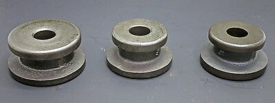 """3 pc Centering Cone Adapter Set Brake Lathe w/ 1"""" Arbor Ammco RELS AccuTurn FMC"""