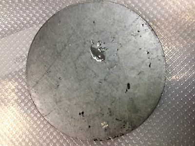 Tellurium 99.999% pure Sputtering Target, 2 inch x 4mm, bonded to Cu, ACI Alloys