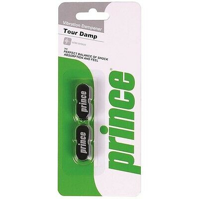 Prince Tour Dampner Black 2 pack. Free Shipping