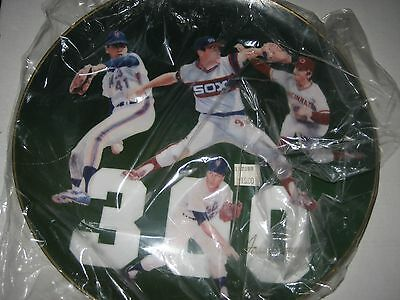 "1986 - Tom Seaver Collectible Plates - ""Games Won Signature Edition"" - Signed"